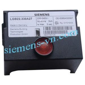 Thông số kỹ thuật Bộ điều khiển đầu đốt Burner Controls LGB22.330A27