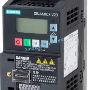 Bien-tan SINAMICS V20 220VAC 0.55 KW 6SL3210-5BB15-5UV0