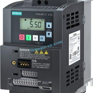 Bien-tan SINAMICS V20 380VAC 0.37 KW 6SL3210-5BE13-7UV0