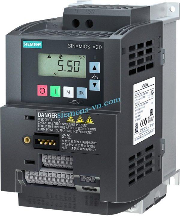 Bien-tan SINAMICS V20 380VAC 1.5 KW 6SL3210-5BE21-5UV0