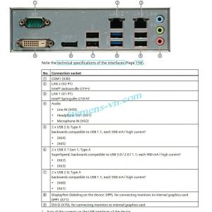 Simatic Ipc547j rack PC SMS-H410 motherboard