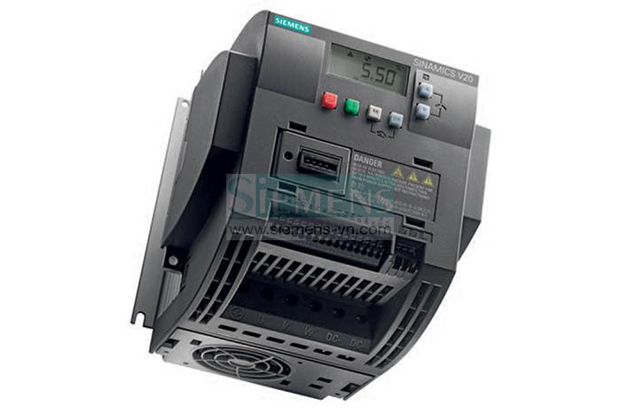 Biến tần SINAMICS V20 được ứng dụng tiêu chuẩn trong công nghiệp
