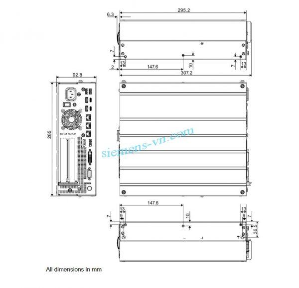 kich-thuoc-may-tinh-cong-nghiep-SIMATIC IPC627E Box PC